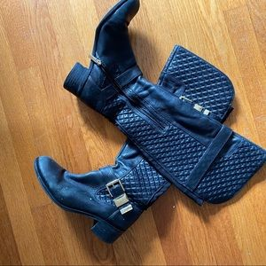 Vince Camuto boots - up to knee but not over knee
